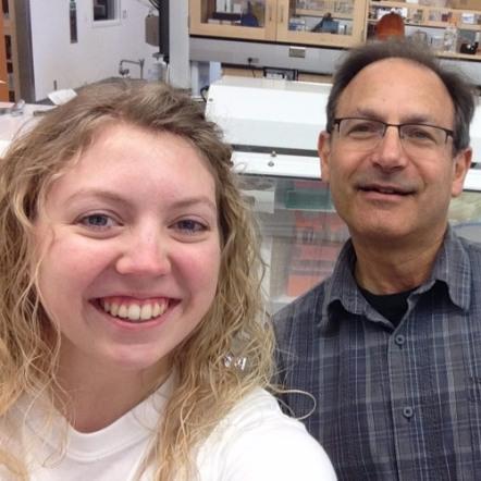 Rachel Noe and Dr. Robert Hutkins