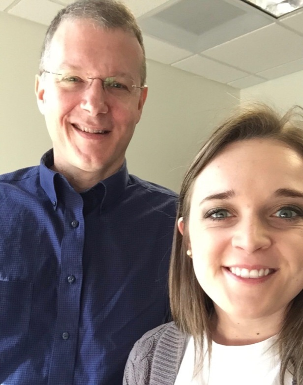 Dr. David Swanson and Leanne Gamet